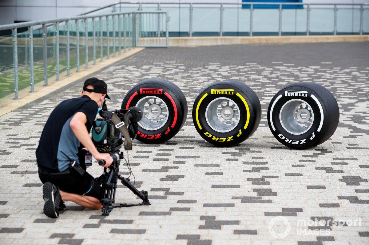Grabación neumáticos Pirelli