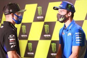 Maverick Vinales, Yamaha Factory Racing, Joan Mir, Team Suzuki MotoGP