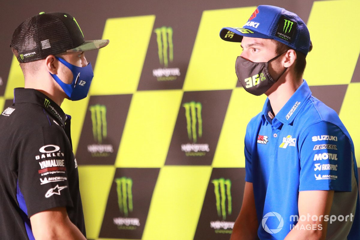 Maverick Viñales, Yamaha Factory Racing, Joan Mir, Team Suzuki MotoGP