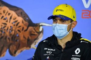Esteban Ocon, Renault F1 Team in the press conference
