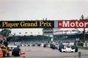 Vittorio Brambilla, March 751 Ford, Clay Regazzoni, Ferrari 312T, Tony Brise, Hill GH1, Patrick Depailler, Tyrrell 007