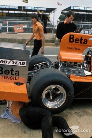 Vittorio Brambilla, March 751 Ford and Robin Herd
