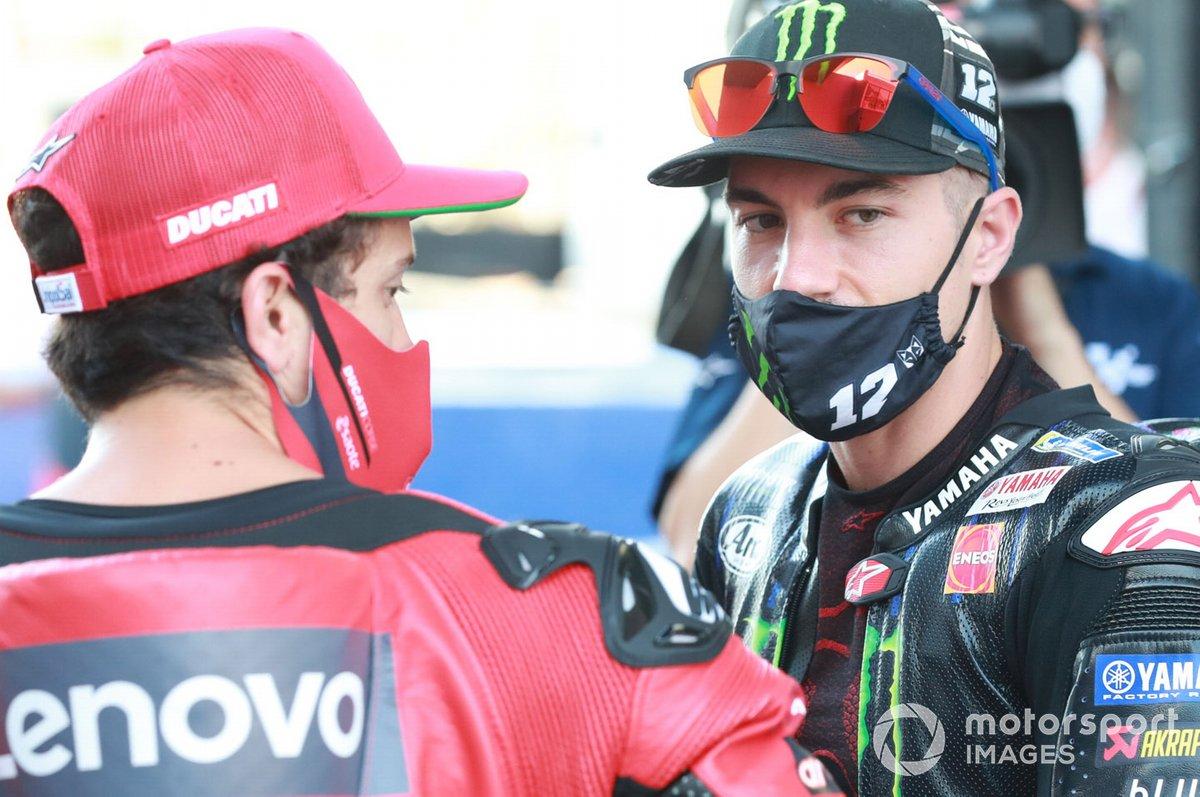 Andrea Dovizioso, Ducati Team, Maverick Vinales, Yamaha Factory Racing