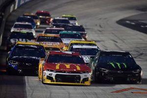 Matt Kenseth, Chip Ganassi Racing, Chevrolet Camaro McDonald's McDelivery, Kurt Busch, Chip Ganassi Racing, Chevrolet Camaro Monster Energy