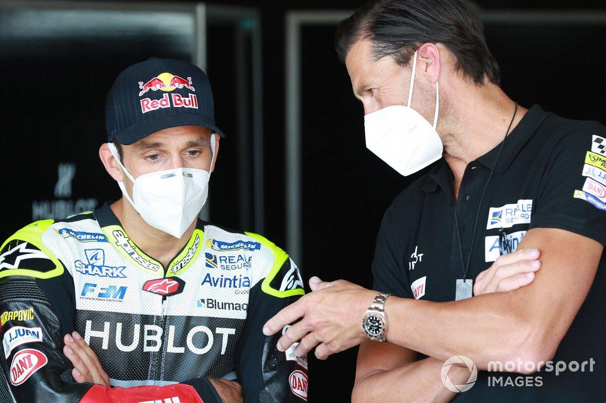 Johann Zarco, Avintia Racing, Ruben Xaus
