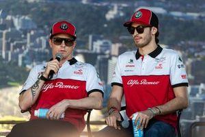 Кими Райкконен и Антонио Джовинацци, Alfa Romeo