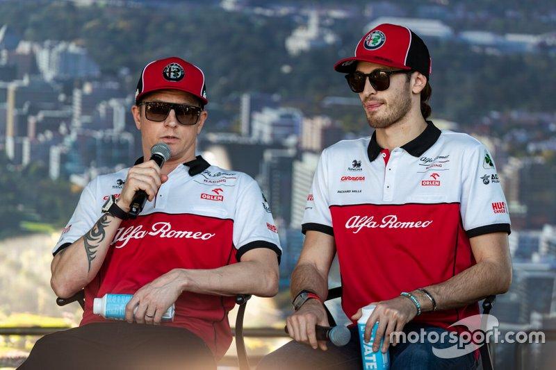Kimi Raikkonen & Antonio Giovinazzi, Alfa Romeo