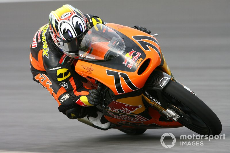 Tomoyoshi Koyama 1 victoria con KTM