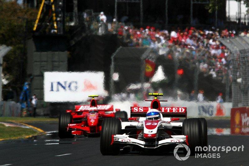 Anthony Davidson, Super Aguri F1 SA07