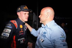 Ott Tänak, Hyundai Motorsport, Andrea Adamo, Team principal Hyundai Motorsport