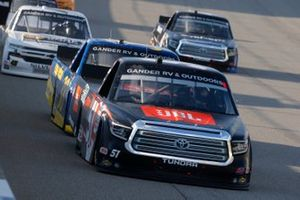 Chandler Smith, Kyle Busch Motorsports, Toyota Tundra JBL, Todd Gilliland, Front Row Motorsports, Ford F-150 Speedco