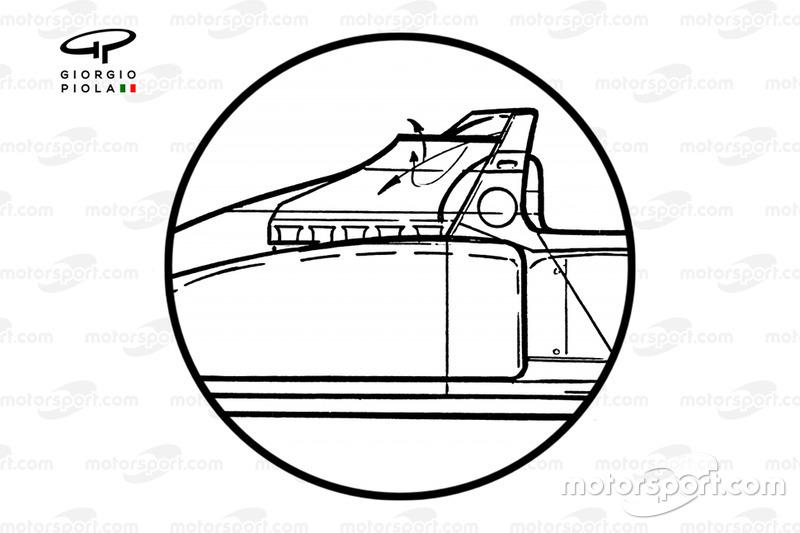 Airbox cutout detail