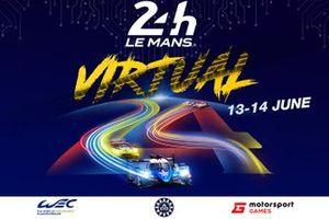 Постер виртуального Ле-Мана