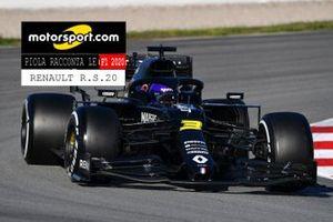 Copertina report Piola racconta le F1 2020, Renault R.S.20
