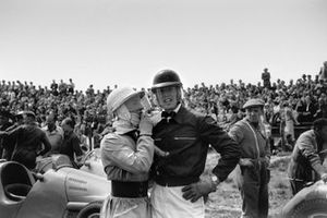 Stirling Moss und Mike Hawthorn