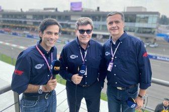 Diego F. Mejia, Fernando Tornello, Luis Manuel López, FOX Sport Latin Amerika