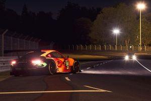 #56 Team Project 1 Porsche 911 RSR: Laurents Hörr, David Kolkmann, Dany Giusa, Lukas Müller