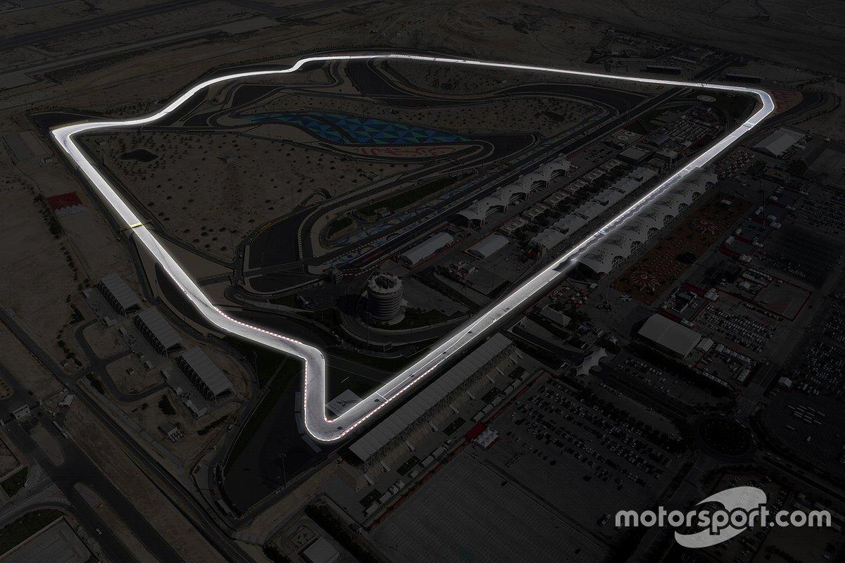 """Circuito """"casi oval"""" de Bahrein"""