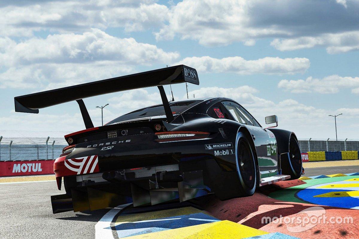 #94 Porsche Esports Team Porsche 911 RSR: Patrick Pilet, Simona De Silvestro, Martin Kronke, David Williams