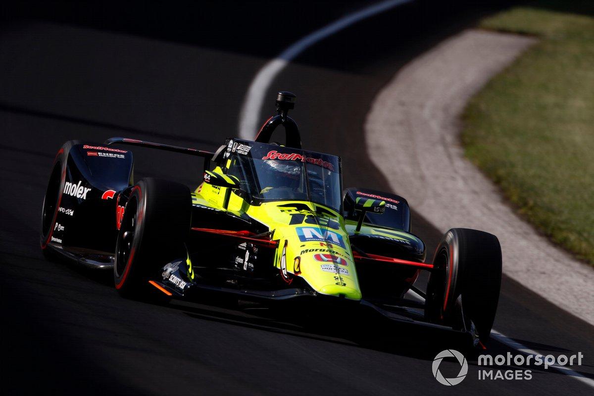 19º Santino Ferrucci, Dale Coyne Racing with Vasser Sullivan – Honda
