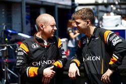 McLaren engineers