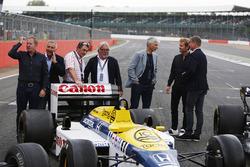 Martin Brundle, Riccardo Patrese, Nigel Mansell, Keke Rosberg, Damon Hill, Nico Rosberg, David Coulthard