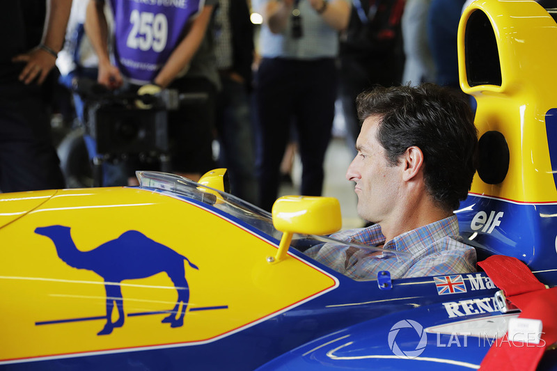 Mark Webber, Williams FW14B Renault