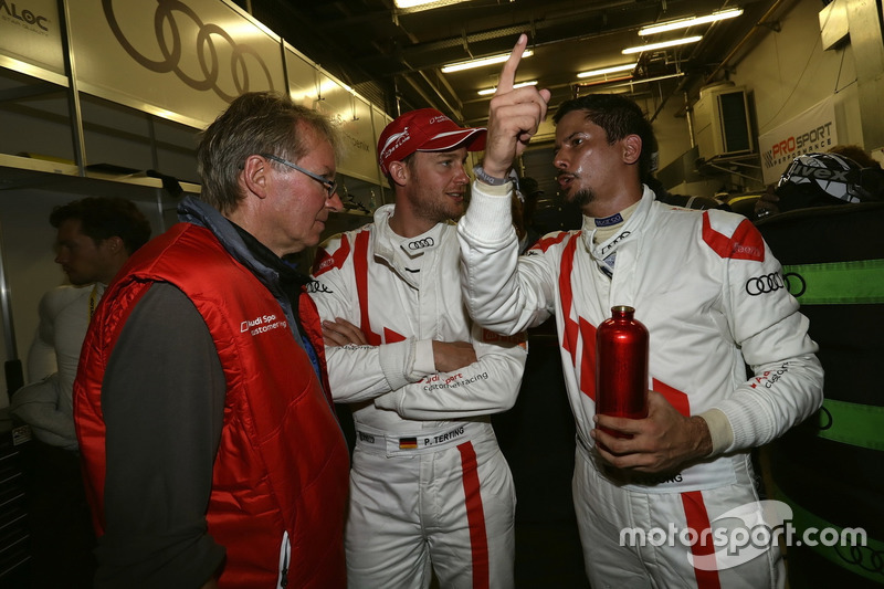#17 Audi Sport Team Phoenix, Audi R8 LMS GT4: Peter Terting, Alex Yoong