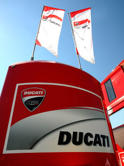 Ducati Team motorhome