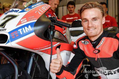 Teste de Chaz Davies na Ducati