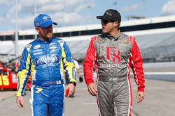 Justin Allgaier, JR Motorsports Chevrolet J.J. Yeley, TriStar Motorsports Toyota