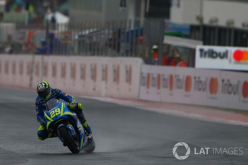 Defekt: Andrea Iannone, Team Suzuki MotoGP