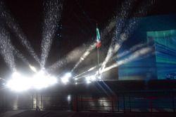 La pioggia durante lo spettacolo