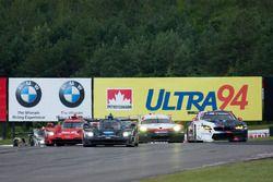 #10 Wayne Taylor Racing Cadillac DPi: Ricky Taylor, Jordan Taylor, #25 BMW Team RLL BMW M6 GTLM: Bil