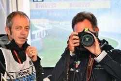 Mark Thompson, photographe de Getty Images, Christian Horner, Team Principal Red Bull Racing et un appareil photo