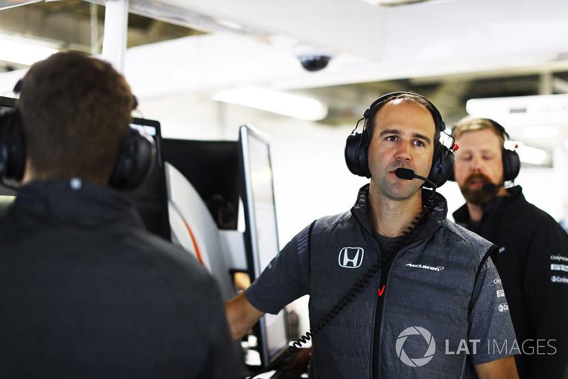 Tom Stallard, Performans mühendisi, McLaren