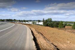 Aanpassingen circuit Le Mans bij Porsche curves