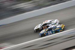 Лэндон Кэссилл, Front Row Motorsports Ford и Чейс Эллиотт, Hendrick Motorsports Chevrolet