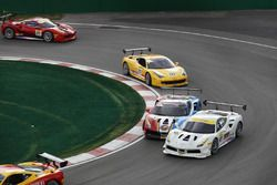 #127 Lake Forest Sportscars: Rick Mancuso, #19 Ferrari of Long Island: Christopher Cagnazzi