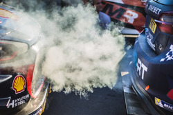 The car of Elfyn Evans, Daniel Barritt, M-Sport Ford Fiesta WR