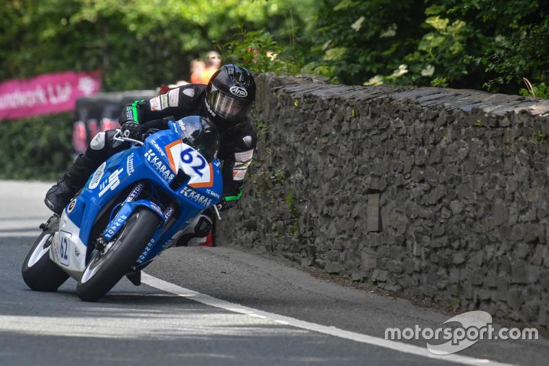 Supersport TT 1: 62. Platz - Julian Trummer, TC Racing - DP Coldplaining