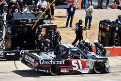 Kyle Busch, Kyle Busch Motorsports Toyota makes a pit stop