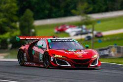 #86 Michael Shank Racing Acura NSX: Oswaldo Negri Jr., Jeff Segal