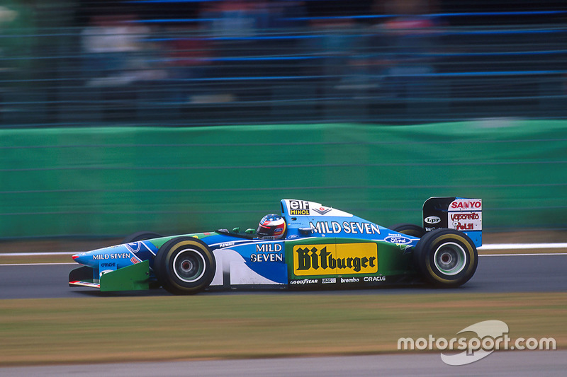 1994 Japanese GP, Benetton B194