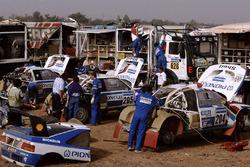 Zona del equipo Peugeot