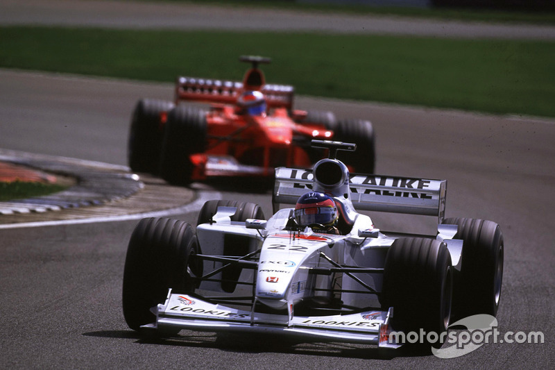 Jacques Villeneuve, BAR ve Michael Schumacher, Ferrari