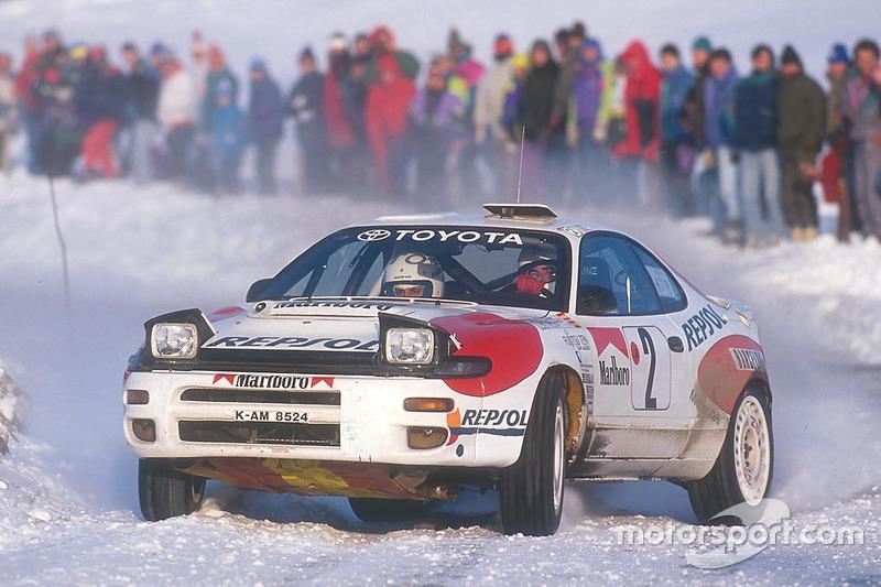 Carlos Sainz, campeón del mundo del WRC 1990 y 1992