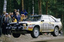 Hannu Mikkola, Arne Hertz, Audi Sport Quattro