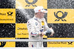 Podium: Maxime Martin, BMW Team RBM, BMW M4 DTM