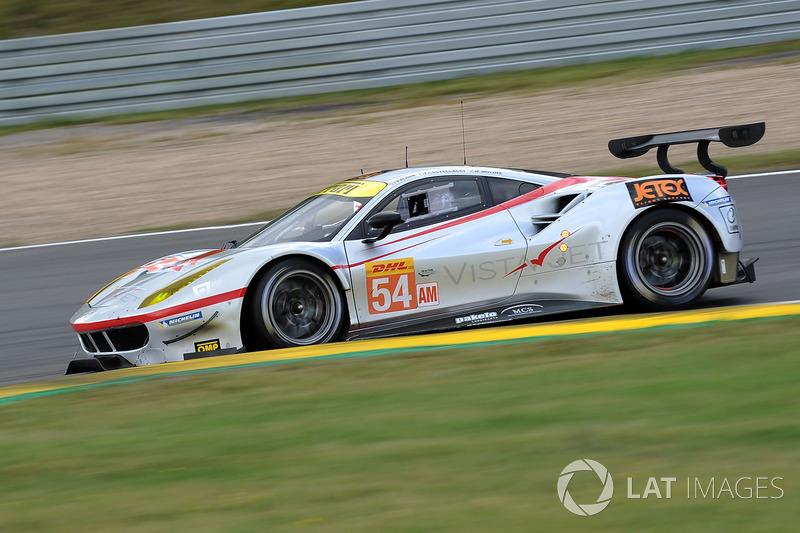 2. GTE-Am: #54 Spirit of Race, Ferrari 488 GTE